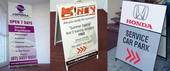 A/Frame Display - Autoline & Signs